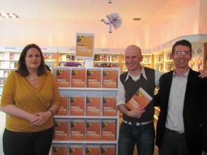 Genevieve, Bob (Gutter Bookshop) and Paul
